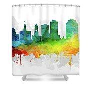 Halifax Skyline Mmr-canshx05 Shower Curtain