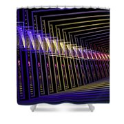 Hall Of Lights Shower Curtain