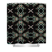 Hall Of Mirrors In Abstract Shower Curtain