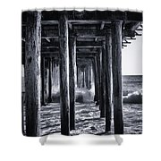 Hall Of Mirrors Shower Curtain
