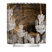 Hall Of Mirrors Palace Of Versailles France Shower Curtain