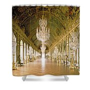 Hall Of Mirrors  The Galerie Des Glaces Shower Curtain