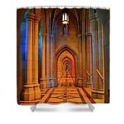 Hall Of The Cathedral Shower Curtain
