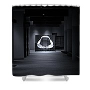 Hall Of The Megalodon Shower Curtain