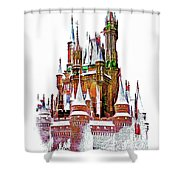 Hall Of The Snow King  Shower Curtain