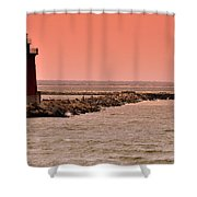 Halladay Shower Curtain by Trish Tritz