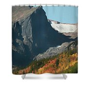 Hallett Peak Fall Colors Shower Curtain