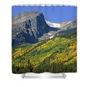 310221-hallett Peak In Autumn  Shower Curtain