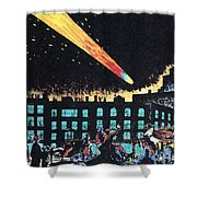 Halleys Comet, 1910 Shower Curtain