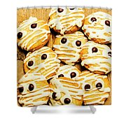 Halloween Baking Treats Shower Curtain