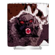 Halloween Bat Shower Curtain