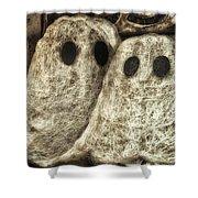 Halloween Ghosts Boo Shower Curtain
