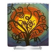 Hallows Eve Shower Curtain