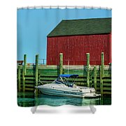 Hall's Harbour Shower Curtain