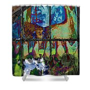 Hallucinatory Rawness Shower Curtain