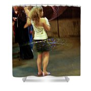 Halo Hool Frolic Shower Curtain