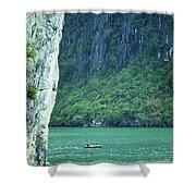Halong Bay 01 Shower Curtain