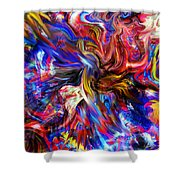Halos And Passions. Shower Curtain