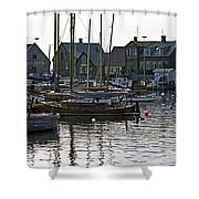 Halsingborg Marina 1 Shower Curtain