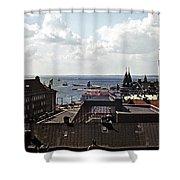 Halsingborg Sweden 2 Shower Curtain