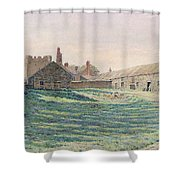 Halton Castle Shower Curtain