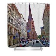 Hamburg Memories Shower Curtain