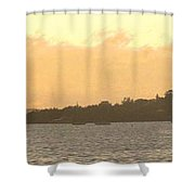 Hamilton Harbour Sunset Shower Curtain