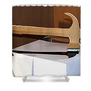 Hammer 4 Shower Curtain