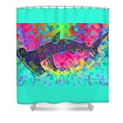 Hammer Head 2 Shower Curtain