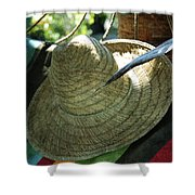 Hammock Greetings Shower Curtain