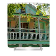 Hammocks In Paradise Shower Curtain