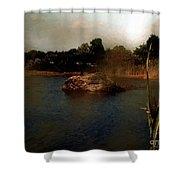Hammonasset Sunset Shower Curtain