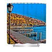 Hammondsport Waterfront Shower Curtain