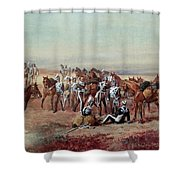 Hampshire Yeomanry Cavalry Shower Curtain