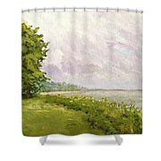 Hampton Bays Shower Curtain