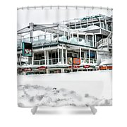Hampton Beach 2015 Shower Curtain