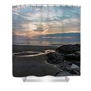 Hampton Beach State Park Shower Curtain