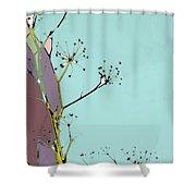 Hamptons Tiffany Shower Curtain