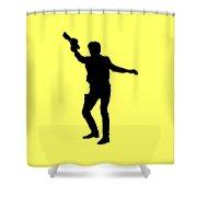 Han Solo Star Wars Tee Shower Curtain