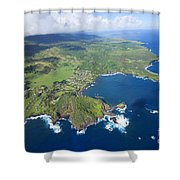 Hana Aerial Shower Curtain