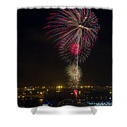 Hanabi Shower Curtain