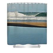Hanakapiai Beach 1287b Shower Curtain