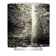Hanakapiai Falls, Kauai, Hi Shower Curtain by T Brian Jones