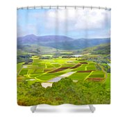 Hanalai Shower Curtain