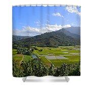 Hanalei River Overlook In Kauai Shower Curtain