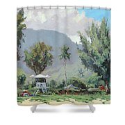 Hanalei Tower Shower Curtain