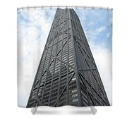 Hancock Building Shower Curtain