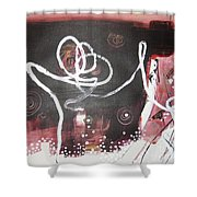 Hand In Hand2 Shower Curtain