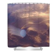 Hand Of God In Colorado Sky  Shower Curtain