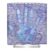 Hand Off Shower Curtain
